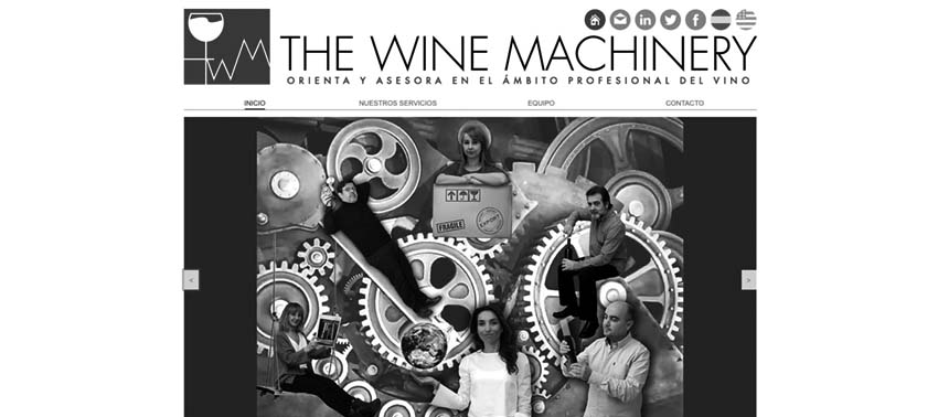THE WINE MACHINERY